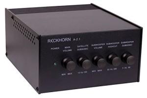 Reckhorn A2.1 Verstärker Bassshaker Bass-Shaker